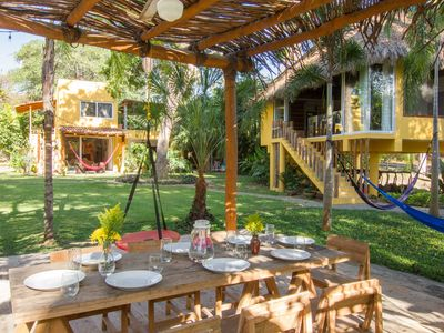 Photo for Villa Tutu with jungle and ocean views, 8,600sqf of gardens, sleep 12