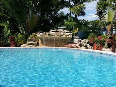 PRIVATE!  Your Pool Your Waterfall. You are the only guests.