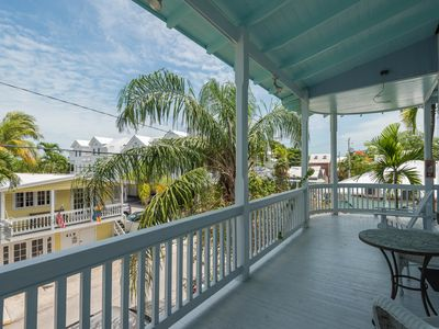 Photo for Island condo w/ balcony & great central location - beach nearby! Dogs OK!
