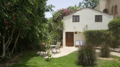 Photo for Apartment duplex with private garden, palm trees view,  4 km from The Sphinx.