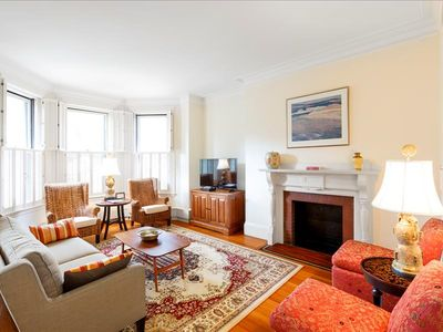 Photo for Back Bay Boston Furnished Apartment Rental - 383 Commonwealth Avenue Unit 3