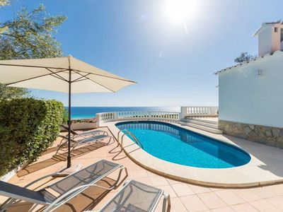 Photo for A beautiful three bedroom villa which has recently had a full refurbishment. .......................