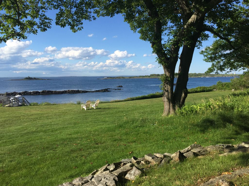 Charming Summer Home With Stunning Views On Private Cove Biddeford Pool