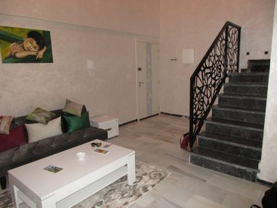 Photo for Elegant and modern duplex - 128m2 LOCATED IN THE CENTER OF MARRAKECH