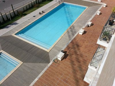 Photo for Comfortable Apartment, Large Adult Pool/Childs Pool and Gardens