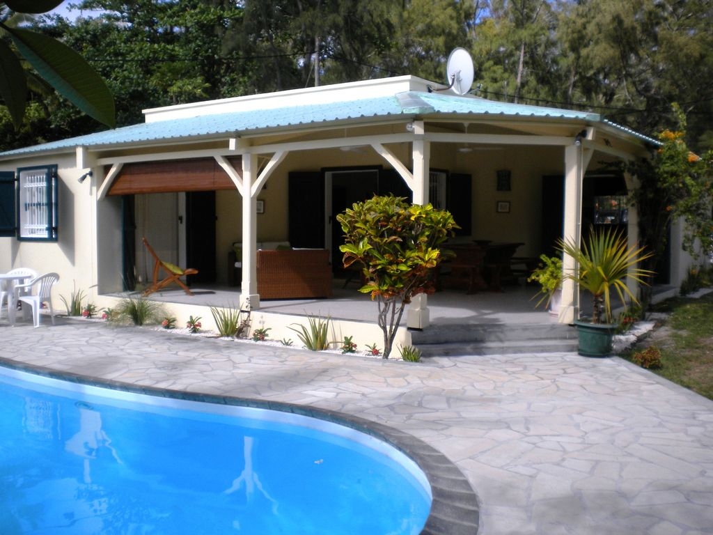 Villa In The Beach And In The Sea With Pool...   HomeAway Poste Lafayette