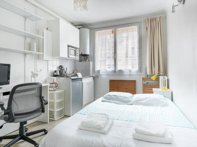 Photo for Little Boulanger Studio  apartment in 05ème - Quartier Latin with WiFi & lift.