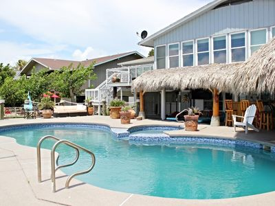 Photo for Beautiful large home located in Rockport right off Little Bay with spectacular water views.  Private