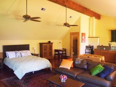 Photo for Large private studio apartment On Main Street