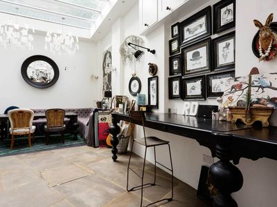 Photo for Beautiful interior designed 5 bed apartment in leafy Hampstead (Veeve)