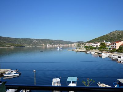 Photo for Directly on sea, 40 m from beach, sea view,2 bedrooms, children friendly