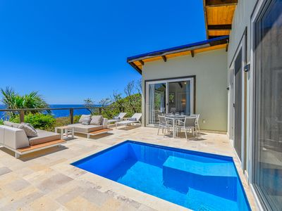 Photo for Brand New! Villa Topaz Guest Villa Above West Bay with 180 Degree Views!