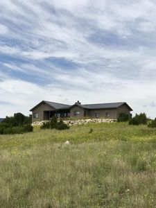 Juniper House is perched on top of a hill providing great views of the area with unobstructed views