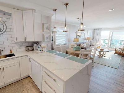 Photo for Completely Renovated 1st Floor Oceanfront Unit with FREE Water Park, Aquarium, Golf & More Daily!