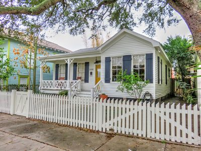 Photo for Pineapple Beach Cottage- Galveston Island, walk to beach, 1.2 miles from Strand