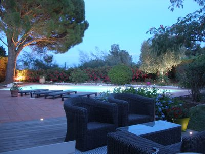 Photo for Villa with pool on Grimaud
