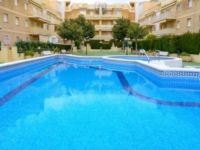 Photo for 3 bedroom Apartment, sleeps 6 in Cunit with Pool, Air Con and WiFi
