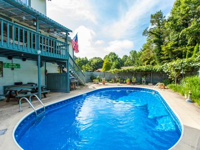 Photo for Charming 4BR w/ Saltwater Pool - Just 2 Minutes to Downtown Weaverville