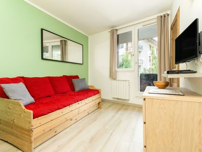 Photo for Modern refurbished one bedroom apartment in Chamonix Sud