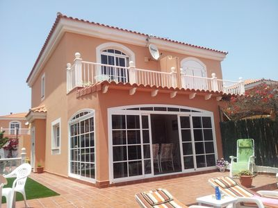 Photo for Luxury Villa On Golf Complex Private Gardens Communal Pool UK TV Internet Access