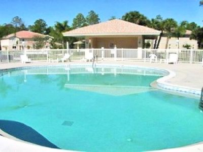 Photo for Bright and airy in beautiful gated community - lake views and Florida sunshine!