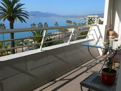 Photo for 134L FAC - Situation et vue exceptionnelles - Apartment for 6 people in Cannes