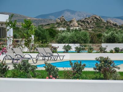 Photo for Delightful Villa with private swimming pool and a partial  view of the sea