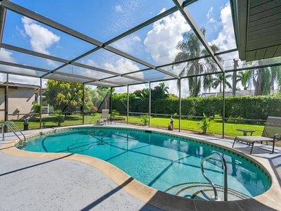 Photo for Luxurious home w/Heated Pool Newly remodeled with fenced yard