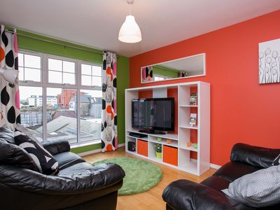 Photo for Belfast City Centre 2 bedroom apartment with private parking