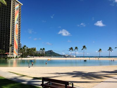 Photo for Waikiki Ilikai Condo - 2 bdrm - Next to beach and close to Ala Moana Shopping