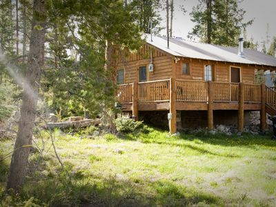 Photo for Charming, Cozy, Classic Mountain Cabin (Mt/Lake views)