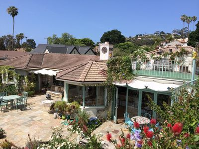DISCOUNT: Secluded Fanciful View Home near Beaches, Town, Harbor. 30 day minimum