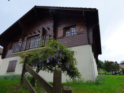 Photo for Detached chalet with sauna near ski pistes in the heart of the Vosges mountains