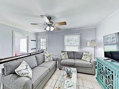 Photo for New Listing! Reel Happy Rockport: Chic Updated Bungalow - Walk to the Water
