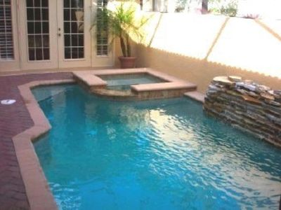 Photo for Lake view, relaxing fabulous single family home with separate casita by pool