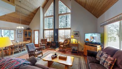 Photo for Tahoe Donner Wooded Family Cabin
