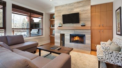 Photo for Ultimate Resort Townhome Close to Whistler Village with Private Hot Tub