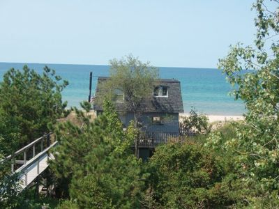 Photo for 3 BR Lake Michigan Beach Front Cottage