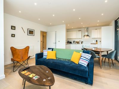 Photo for Stunning 2BD Flat Overlooking River Lea Hackney