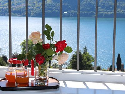 Photo for Casa Panorama Otto: A bright and cheerful apartment situated at a short distance from the shores of Lake Como, with Free WI-FI.