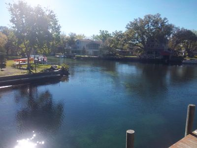 Photo for WEEKI WACHEE MAIN RIVER 3BR/2BA  2 kayaks (2 seaters)