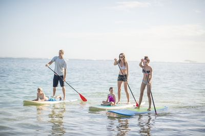 On-board Paddle Boards