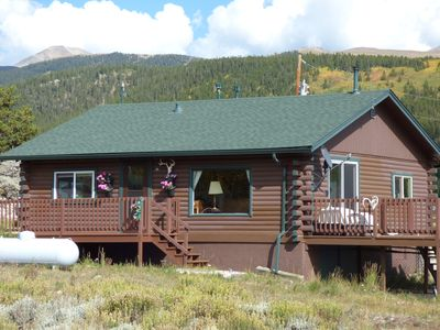 Photo for Cozy Mountain Cabin With Spectacular Views LC#279734330001