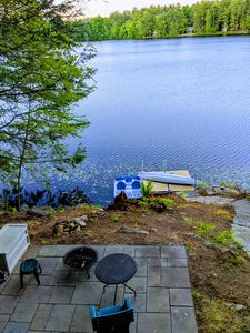 Photo for Panoramic Water Views, waterfront house on French pond