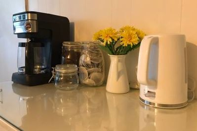 You'll be provided with all the things you need to make Coffee and Tea just the way you like it...