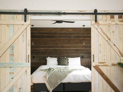 Photo for Romantic, honeymoon cottage oozes with rustic charm on Farm hinterland Byron Bay