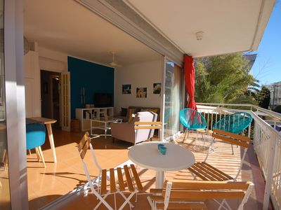 Photo for TERRACE APARTMENT NEAR BEACH in TOSSA DE MAR