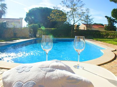 Photo for 4 bedroom Villa, sleeps 8 in Vale do Lobo with Pool and WiFi