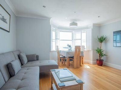 Photo for Panoramic Sea View Luxury 2 Bed Apartment  & Free Private Parking Space