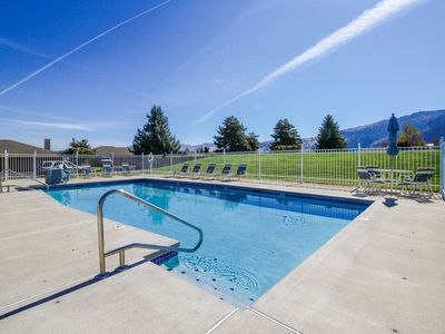 Photo for NEW LISTING! Beautiful home w/ deck, shared pools, tennis, & game room